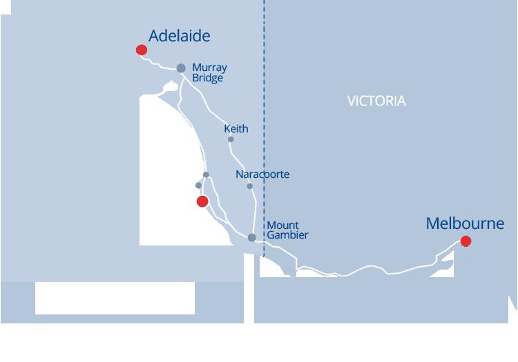 Robe SA Map
